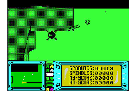Fat Worm Blows a Sparky (1986) by Durell ZX Spectrum game