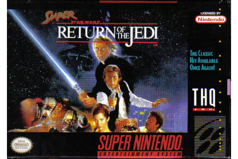 Super Star Wars: Return of the Jedi - SWGames, the Star ...