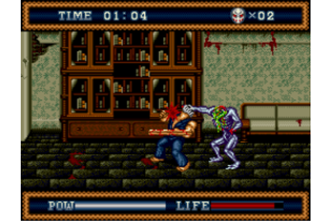 Play Genesis Splatterhouse 3 (USA) Online in your browser ...