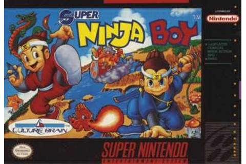 Super Ninja Boy - Wikipedia