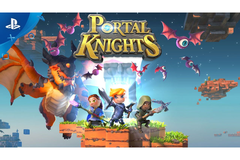 Portal Knights - Launch Trailer | PS4 - YouTube
