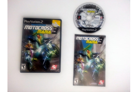 Motocross Mania 3 game for Playstation 2 (Complete) | The ...