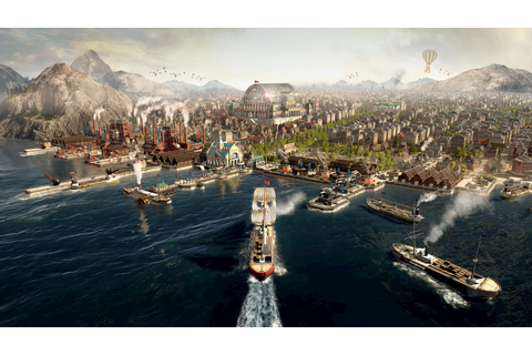 Anno 1800 - PIONEERS OF A NEW DAWN