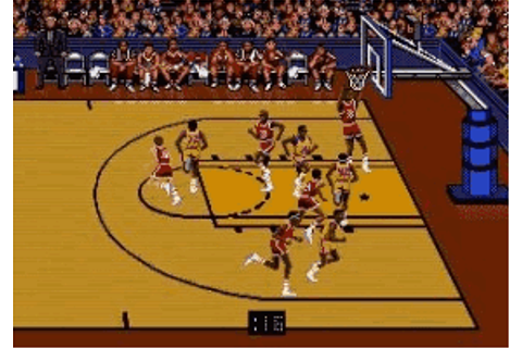 Bulls vs Lakers & the NBA Playoffs - Play Sega Genesis ...