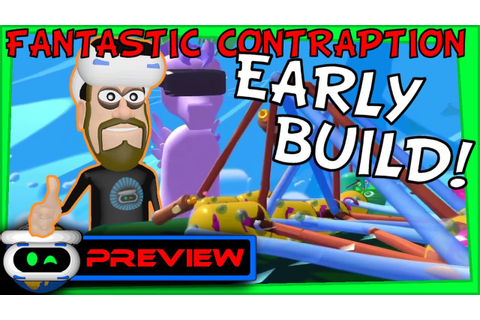 Fantastic Contraption PSVR Preview! Early Game Build ...
