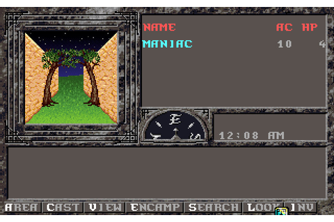 Forgotten Realms: Unlimited Adventures (1993 - DOS ...