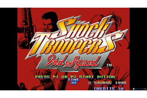 SHOCK TROOPERS 2nd Squad gameplay (PC Game, 1998) - YouTube