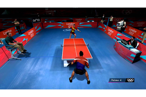 London 2012 - Table tennis gameplay clip (PC, 1080p) - YouTube