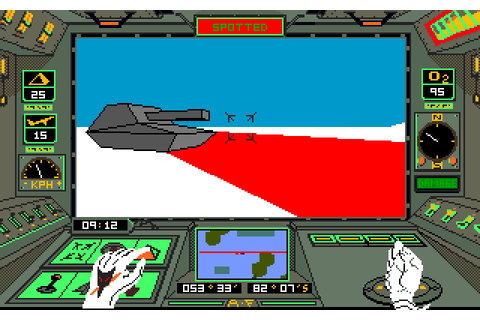 Arctic Fox (1986) by Dynamix Amiga game