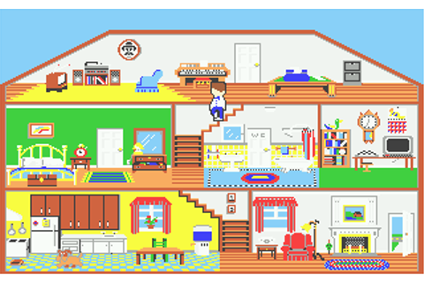 Little Computer People Screenshots for Atari ST - MobyGames