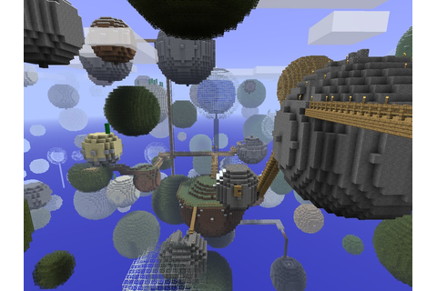 Minecraft - Planetoids | This is what I've build so far on ...