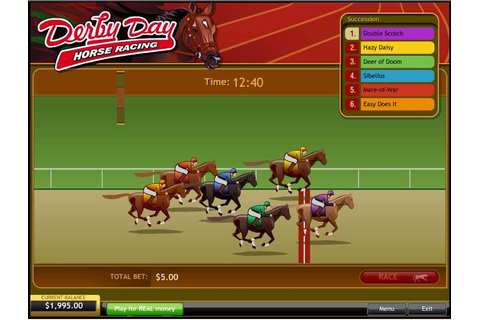 Play Derby Day Horse Racing Other from Playtech for Free