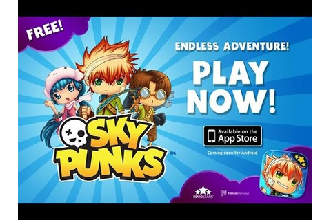 Sky Punks Rovio Android Game Review Gameplay 10 Minutes ...