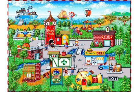 Busy Town Computer Game, i loved playing it as kid. just ...
