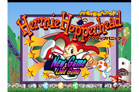 Hermie Hopperhead (1995) by Sony PS game