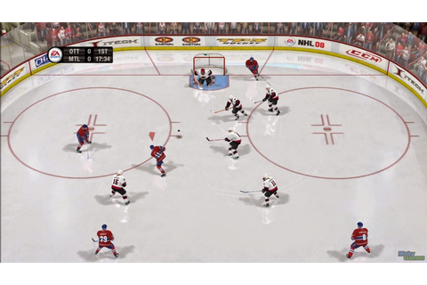 NHL 08 - Full Version Game Download - PcGameFreeTop