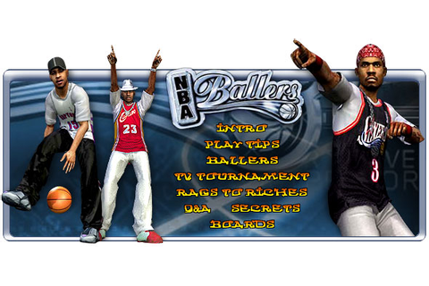 NBA Ballers - ps2 - Walkthrough and Guide - Page 1 - GameSpy