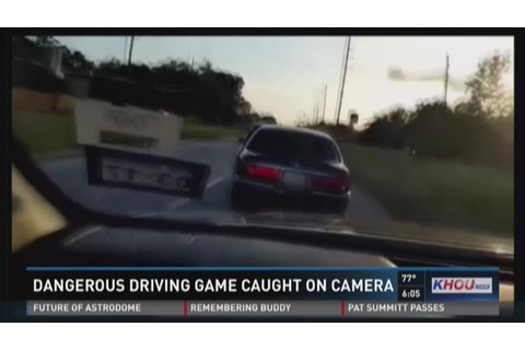 Dangerous driving game caught on camera | WFMYNEWS2.com
