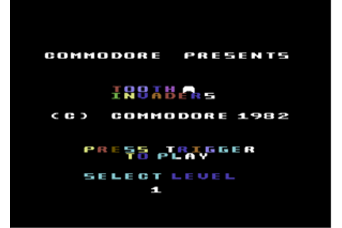 Tooth Invaders - C64-Wiki