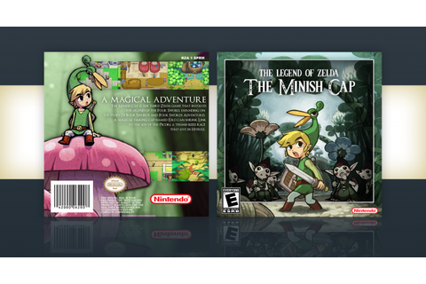 The Legend of Zelda: The Minish Cap Game Boy Advance Box ...