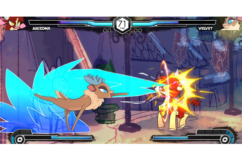 Them's Fightin' Herds - My Little Pony Fighting Game ...