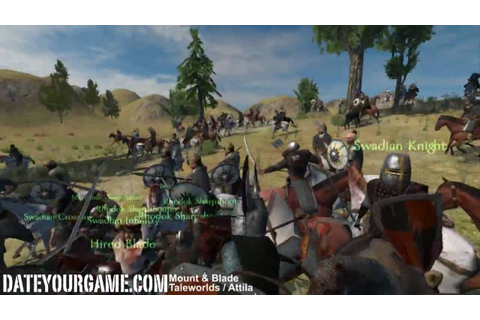 Mount & Blade Gameplay - YouTube