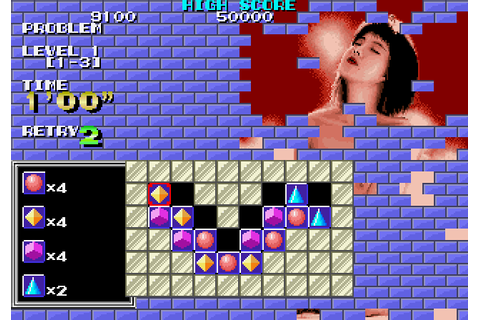 Puzznic (1989) by Taito Arcade game