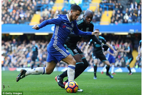 Chelsea forward Eden Hazard out of Premier League game ...