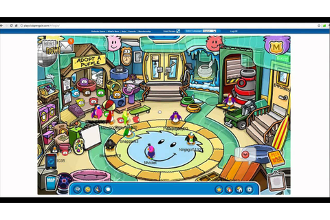Club Penguin: Great game for Parents & Kids! - YouTube