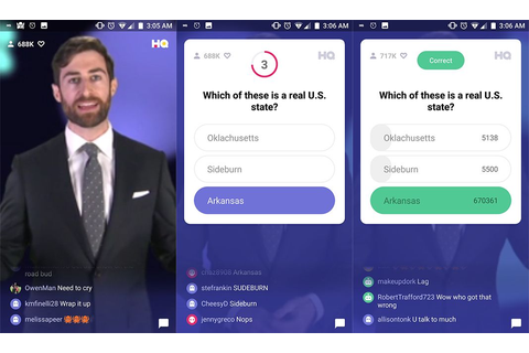 HQ Trivia is finally available for download on Android