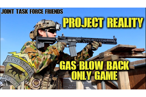 Gas Blow Back Only Game: Project Reality (KWA LM4 LVOA ...