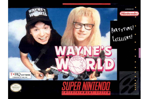 Wayne's World (USA) ROM
