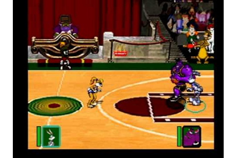 Playing Space Jam The Video Game - YouTube