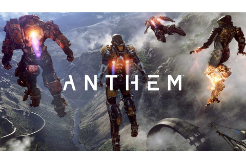 Anthem – EA takes on Destiny with open-world futuristic ...