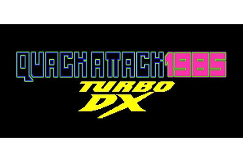 QUACK ATTACK 1985: TURBO DX EDITION on Steam