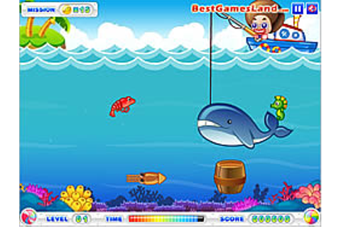 Play Fishing Master game online - Y8.COM