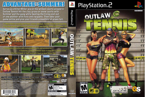 Games Covers: Outlaw Tennis - Playstation 2