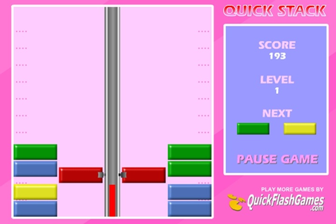 Quick Stack Game - Brick games - Games Loon