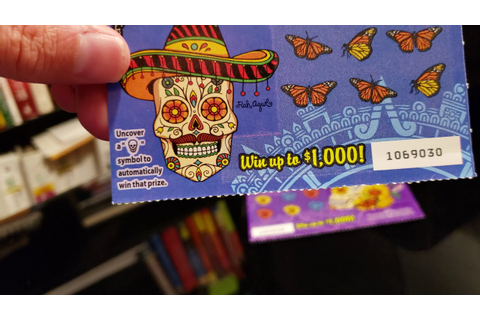 California Scratcher: DIA DE LOS MUERTOS (GAME 1378) - YouTube