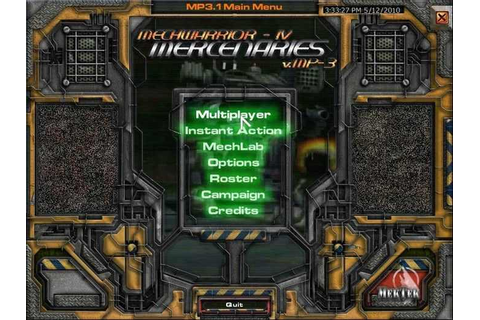 MechWarrior 4 Mercenaries Download Free Full Game | Speed-New