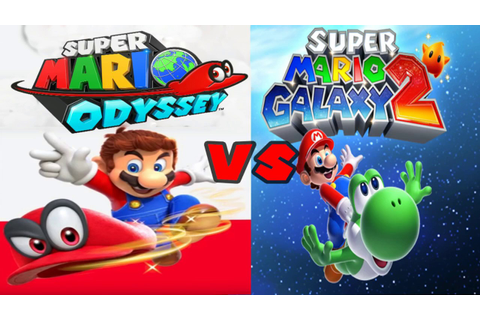 Super Mario Odyssey Vs Super Mario Galaxy 2 (Full ...