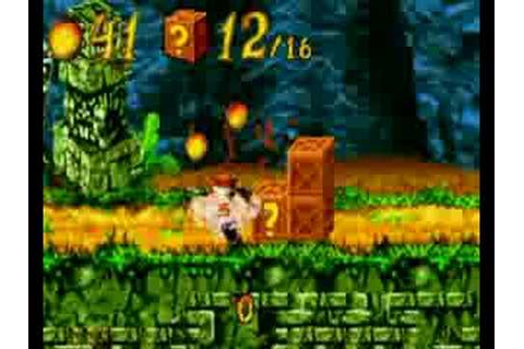 GBZ Gameplay - Crash Bandicoot XS (GBA) - YouTube