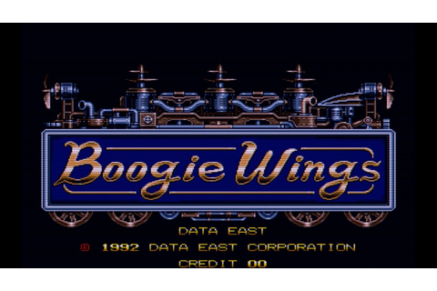Boogie Wings (Arcade Game Intro) - YouTube