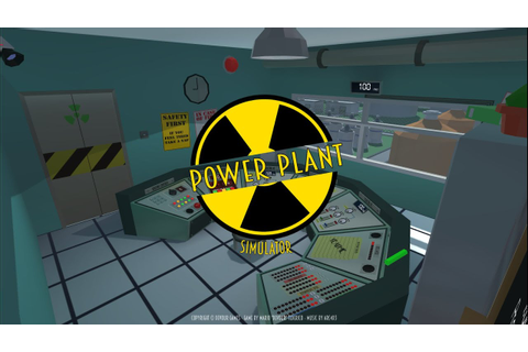 Nuclear Power Plant Simulator - 1st Try!! I suck!! - YouTube