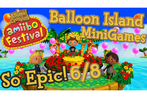 ABM: AC Mini Games *Balloon Island* Gameplay 6/8 - YouTube