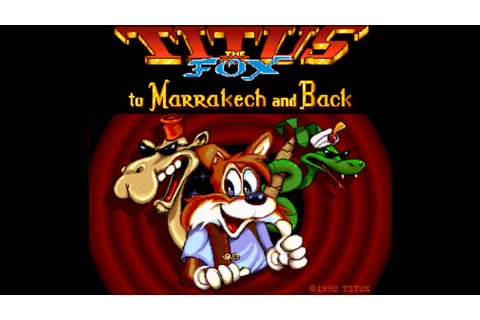 Titus the Fox: to Marrakech and Back - Game Over (Amiga ...