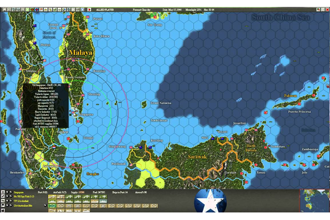 War in the Pacific: Admiral's Edition - gameplay video ...
