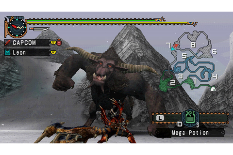 Download Monster Hunter Freedom Unite PSP GAME ~ PCGamesMACOS