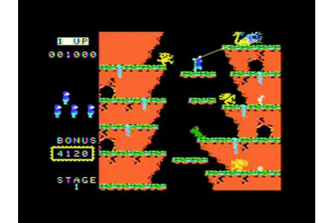 Roc 'N Rope Review ColecoVision - YouTube