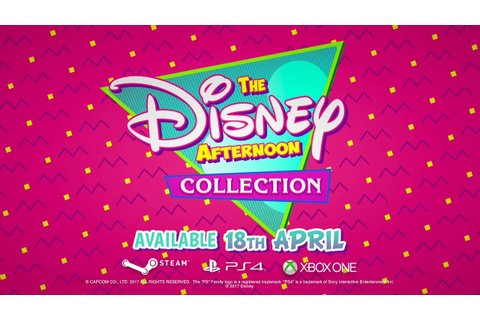 The Disney Afternoon Collection - Announcement Trailer ...